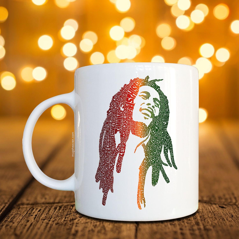 Bob marley tazza reggae tazza di caffè u mugs heaven buy